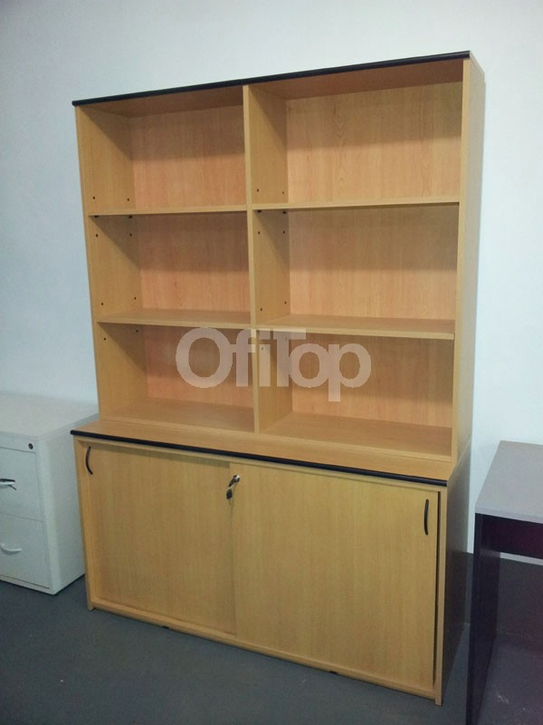 Biblioteca con alzada muebles con alzada for Muebles de oficina concepcion