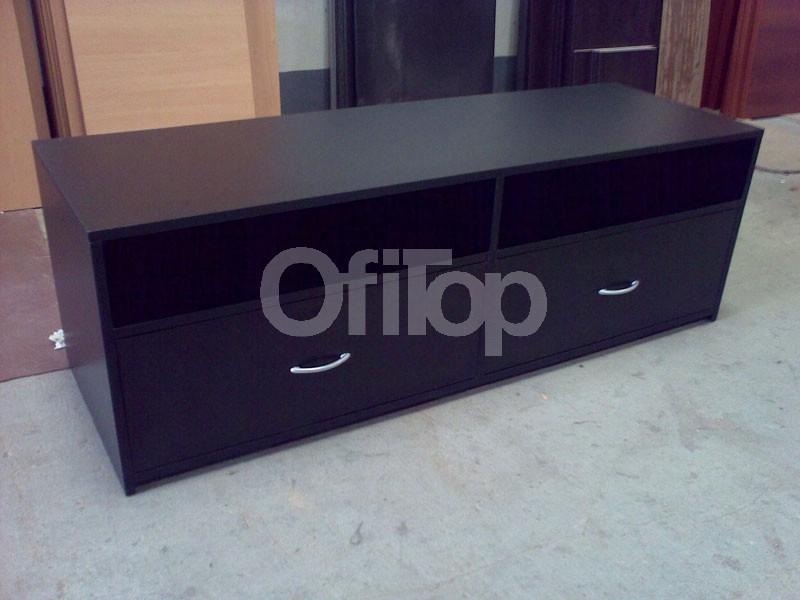 Mesa de tv de melamina para lcd mesa tv con ruedas para for Mesas de tv con ruedas