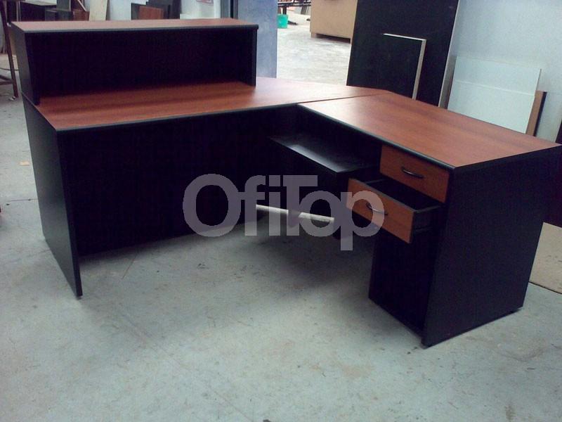 Mostradores para locales y comercios en madera el mejor for Mostradores para oficina